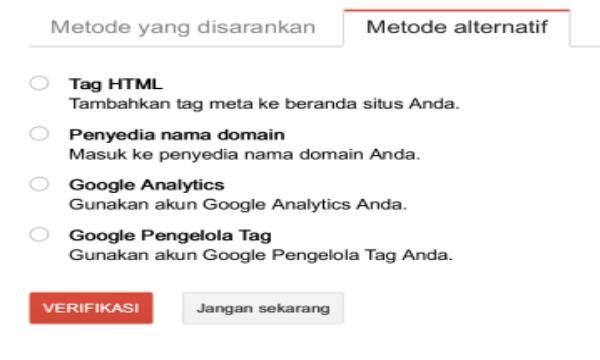 Cara Mendaftarkan Blog di Google Webmaster