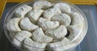 Cara Membuat Kue Putri Salju Keju yang Lezat