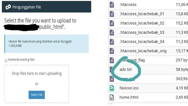 Cara Mengaktifkan Ads.txt
