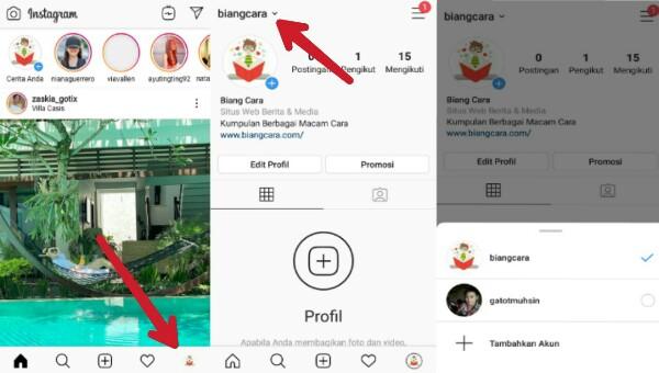 Cara Membuat 2 Akun Instagram