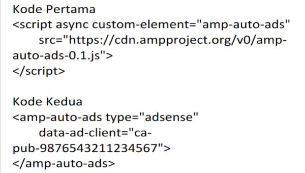 Cara Pasang Iklan AdSense di AMP Blogger