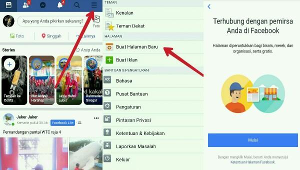 Cara Membuat Fans Page Facebook untuk Bisnis
