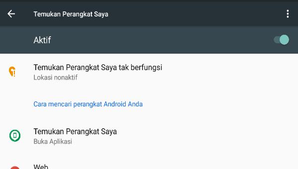 Cara Melacak Hp Android