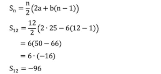 Diketahui Barisan Aritmetika 25